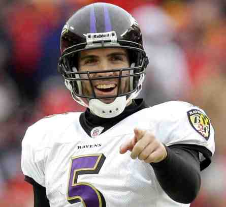 Image result for joe flacco upset
